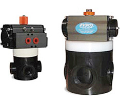 Pneumatic Air to Air Actuated Valves